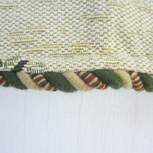 Vintage Accents - 6 Drapery Valances tapestry fabric palm tree 56x16